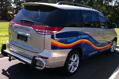 Shoalhaven Mayoral Vehicle
