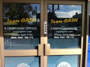Gash campaign office closed