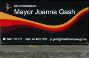 Mayor Jo Gash sign 400x300
