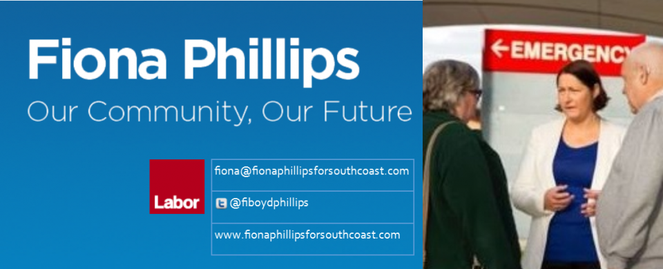 Fiona Phillips For South Coast